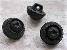 Knopf - Schwarz 12 mm