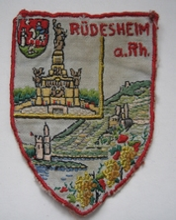 Embleem - Rhüdesheim am R. 60 mm
