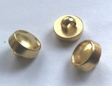 Gold- button 10 mm