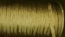 Elastiek-Goud  (1mtr) 6 mm