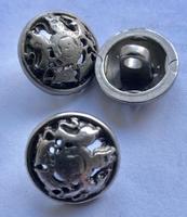Grijs-Knoop 17,5 mm