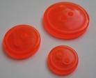 R-knoop - fel oranje 20 mm
