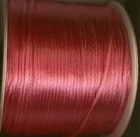 Schnur - hellfuchsia-rose 2 mm