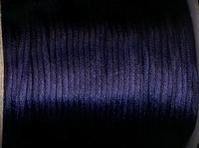 Schnur - dunkelblau 2 mm