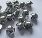 Silvercolor-button 10 mm