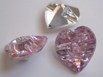 Heart - Button 15 x 14 mm