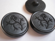 1 Button - Antique Button 26 mm