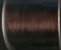 Schnur - dunkelbraun 2 mm