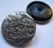 1 Button - Antique Button 47 mm